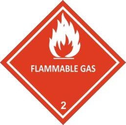 CYO – CLASS 2.1 1A, 2.1 2A Flammable Gas