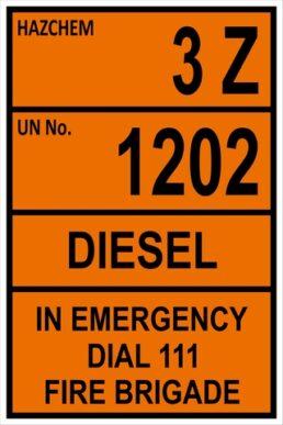CYO – Hazchem Diesel