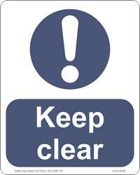 MA62 – Keep Clear