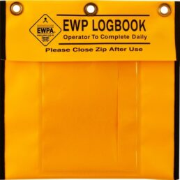 Orange Pouch for EWP Logbook (Waterproof)