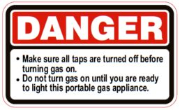 Fluid & Fuels – DANGER Make sure all taps …