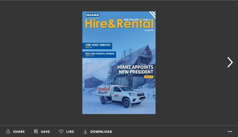 Issue 16 of Hire and Rental Magazine